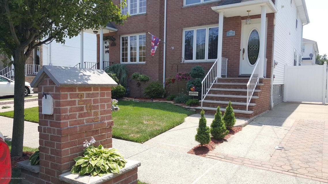 Single Family - Semi-Attached 292 Malvine Avenue  Staten Island, NY 10309, MLS-1121137-2