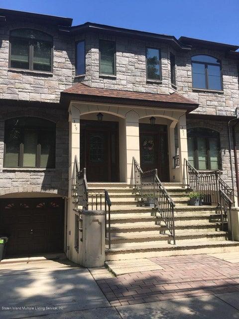 Single Family - Semi-Attached in S.E. Annadale - 349 Arbutus Avenue  Staten Island, NY 10312