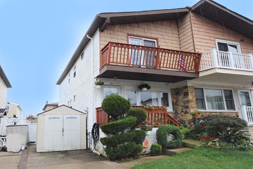 Single Family - Semi-Attached in Annadale - 16 Strawberry Lane  Staten Island, NY 10312