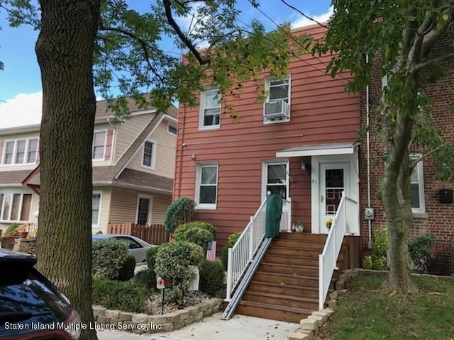 Two Family - Semi-Attached in Westerleigh - 31 Coale Avenue  Staten Island, NY 10314