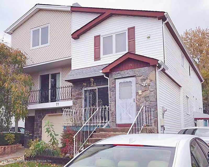 Single Family - Semi-Attached in New Springville - 79 Bogota Street  Staten Island, NY 10314