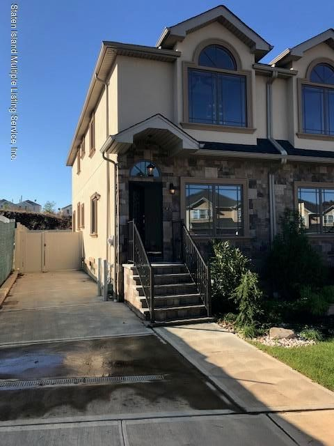 Single Family - Semi-Attached in New Springville - 52 Conrad Avenue  Staten Island, NY 10314