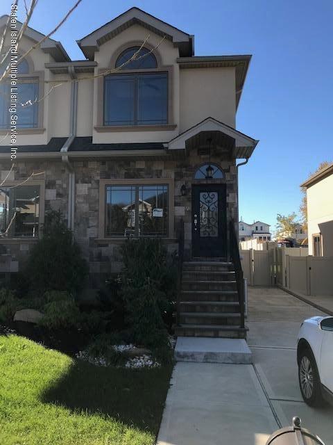 Single Family - Semi-Attached in New Springville - 54 Conrad Avenue  Staten Island, NY 10314