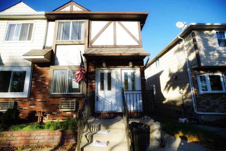 Two Family - Semi-Attached in Richmond Town - 247 Corona Avenue  Staten Island, NY 10306