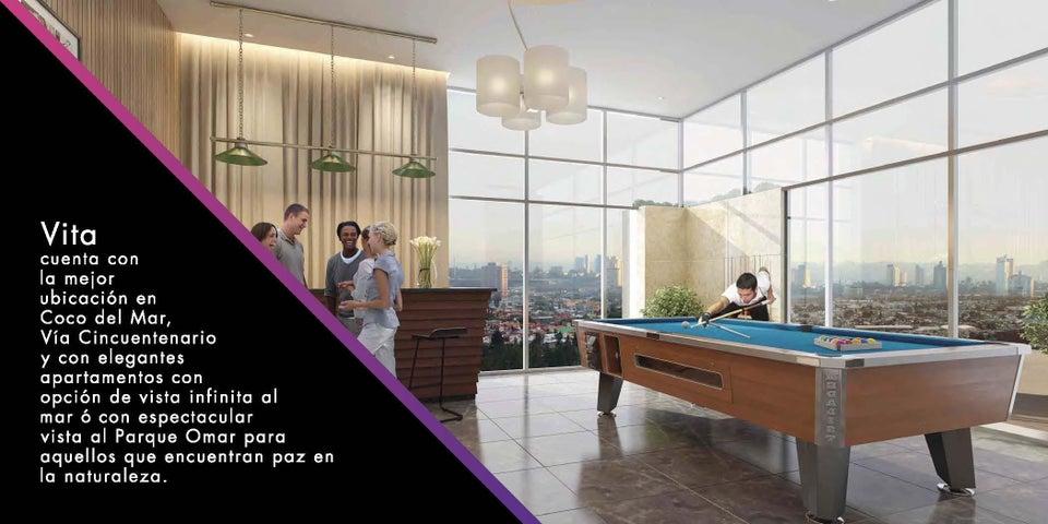 PANAMA VIP10, S.A. Apartamento en Venta en Coco del Mar en Panama Código: 15-854 No.2