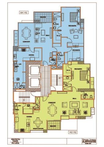 PANAMA VIP10, S.A. Apartamento en Venta en Coco del Mar en Panama Código: 15-854 No.7