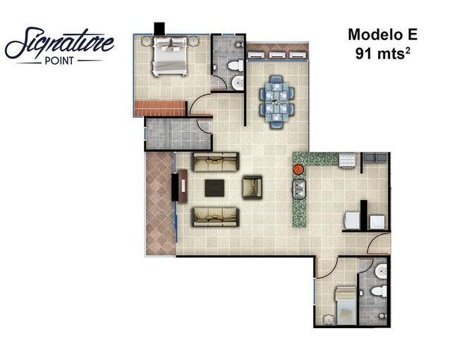 PANAMA VIP10, S.A. Apartamento en Venta en Bellavista en Panama Código: 15-90 No.7