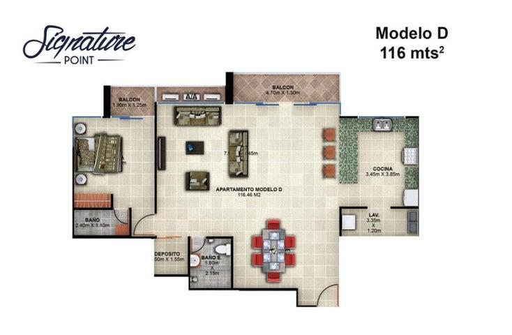 PANAMA VIP10, S.A. Apartamento en Venta en Bellavista en Panama Código: 15-90 No.8
