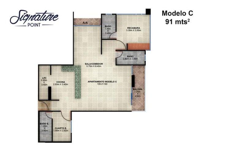 PANAMA VIP10, S.A. Apartamento en Venta en Bellavista en Panama Código: 15-90 No.6