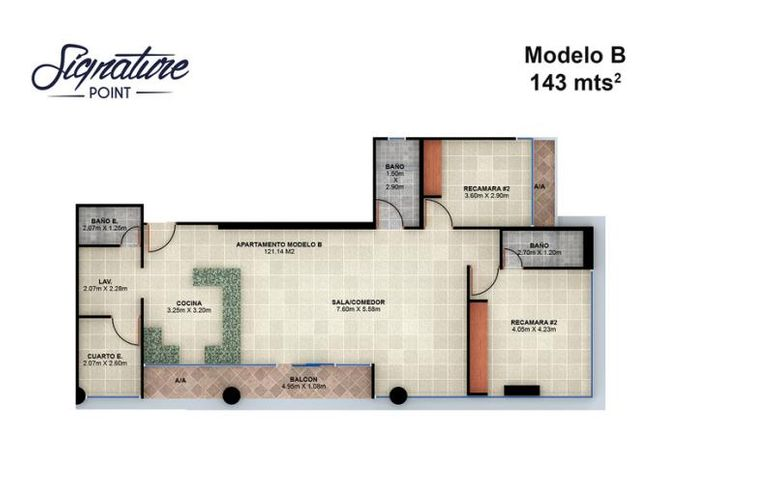 PANAMA VIP10, S.A. Apartamento en Venta en Bellavista en Panama Código: 15-90 No.9
