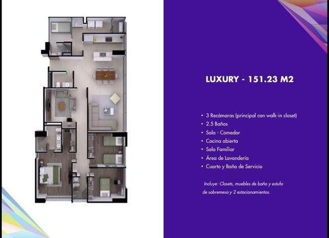 PANAMA VIP10, S.A. Apartamento en Venta en Costa del Este en Panama Código: 15-1520 No.7