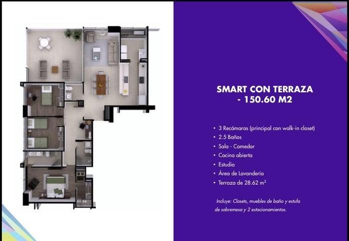 PANAMA VIP10, S.A. Apartamento en Venta en Costa del Este en Panama Código: 15-1520 No.8