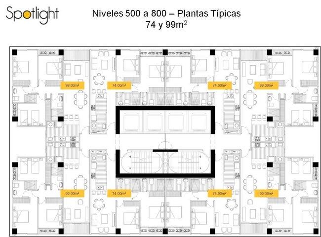 PANAMA VIP10, S.A. Apartamento en Venta en Altos de Panama en Panama Código: 15-1745 No.2