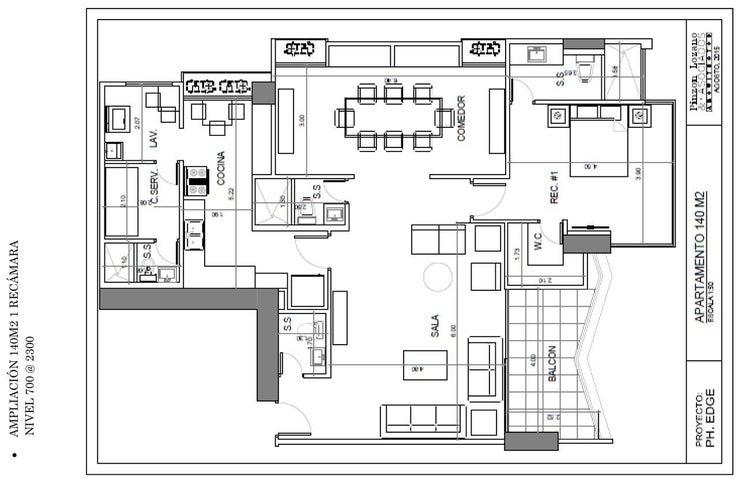 PANAMA VIP10, S.A. Apartamento en Venta en San Francisco en Panama Código: 15-2688 No.5