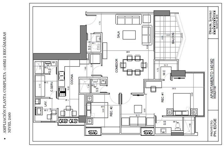 PANAMA VIP10, S.A. Apartamento en Venta en San Francisco en Panama Código: 15-2688 No.7