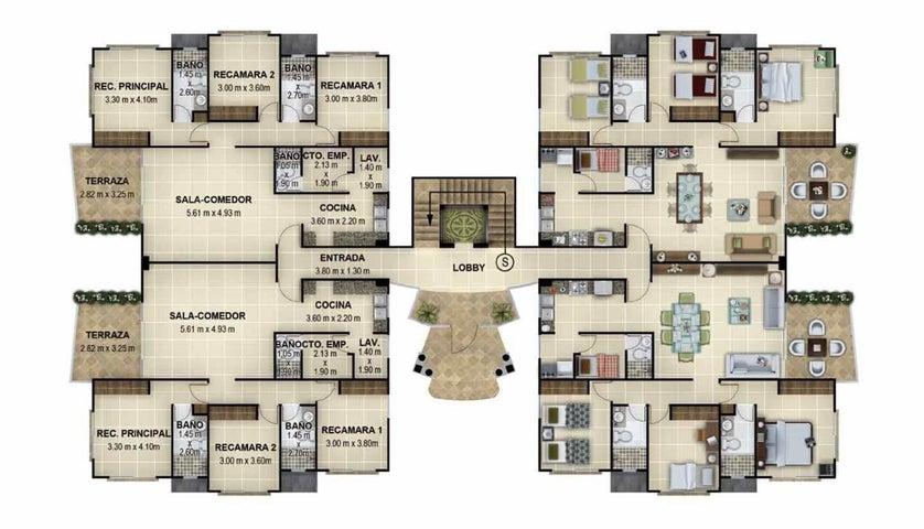 PANAMA VIP10, S.A. Apartamento en Venta en Coronado en Chame Código: 15-2969 No.6