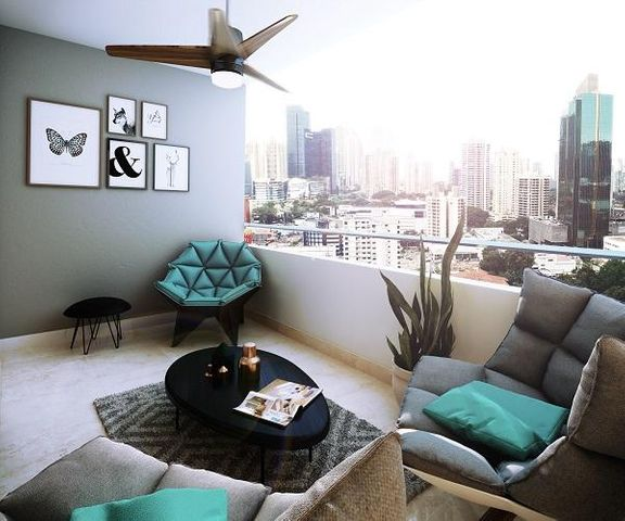 PANAMA VIP10, S.A. Apartamento en Venta en Obarrio en Panama Código: 16-624 No.1