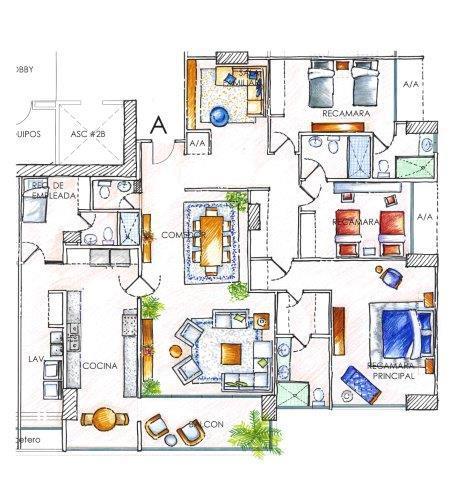 PANAMA VIP10, S.A. Apartamento en Venta en Costa del Este en Panama Código: 16-1016 No.8