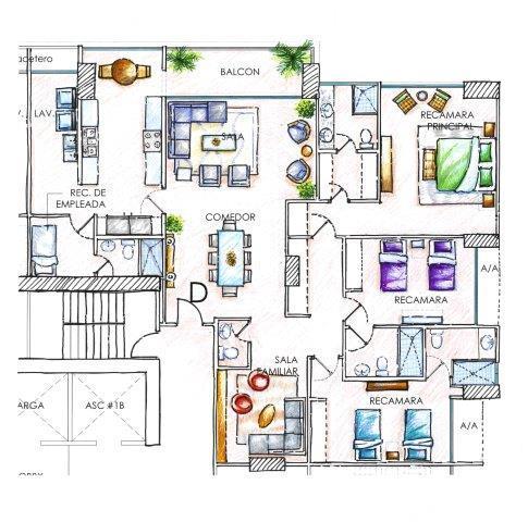 PANAMA VIP10, S.A. Apartamento en Venta en Costa del Este en Panama Código: 16-1016 No.9