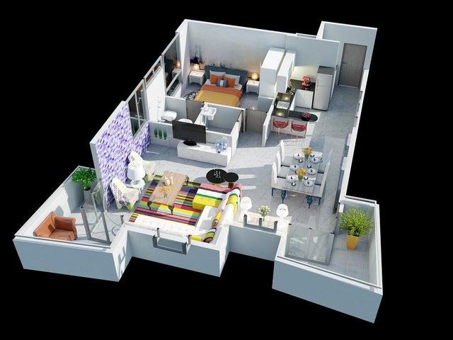 PANAMA VIP10, S.A. Apartamento en Venta en Via Espana en Panama Código: 16-1229 No.4