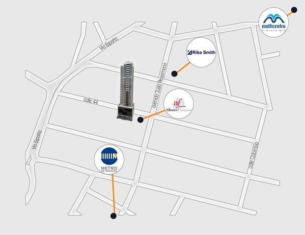 PANAMA VIP10, S.A. Apartamento en Venta en Bellavista en Panama Código: 16-1238 No.8