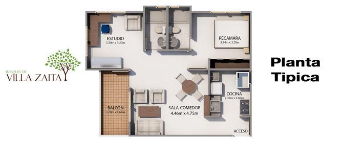 Apartamento En Venta En Milla 8 Código FLEX: 16-1325 No.2