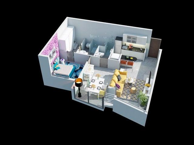 PANAMA VIP10, S.A. Apartamento en Venta en Via Espana en Panama Código: 16-1352 No.3