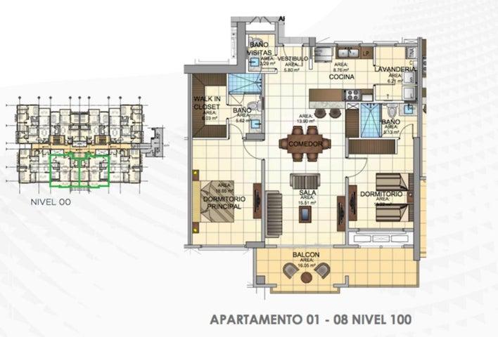 PANAMA VIP10, S.A. Apartamento en Venta en Panama Pacifico en Panama Código: 16-1581 No.1