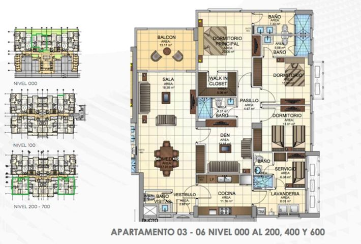 PANAMA VIP10, S.A. Apartamento en Venta en Panama Pacifico en Panama Código: 16-1582 No.5