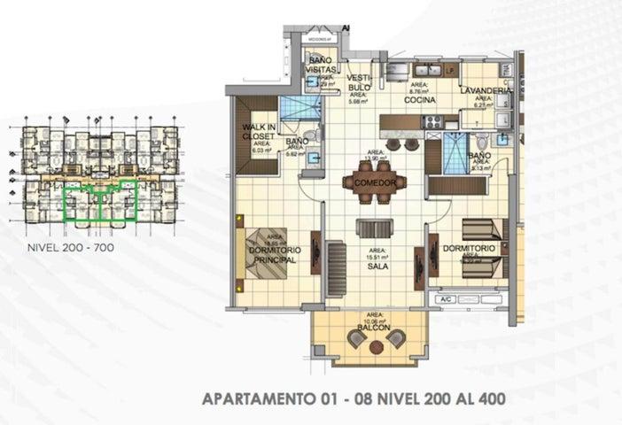 PANAMA VIP10, S.A. Apartamento en Venta en Panama Pacifico en Panama Código: 16-1583 No.2