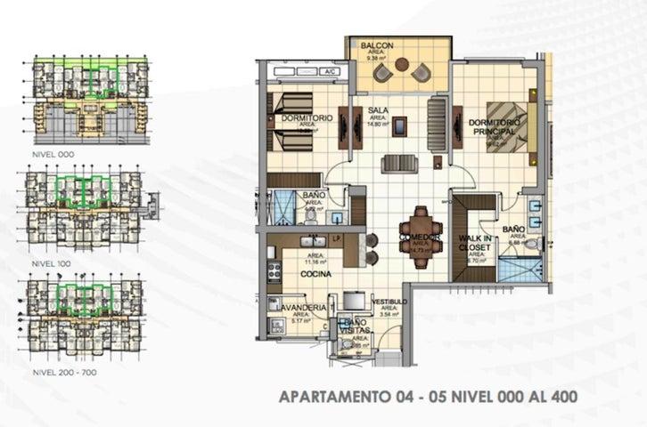 PANAMA VIP10, S.A. Apartamento en Venta en Panama Pacifico en Panama Código: 16-1583 No.6