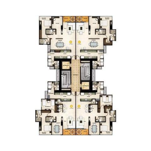 PANAMA VIP10, S.A. Apartamento en Venta en Obarrio en Panama Código: 16-1826 No.3