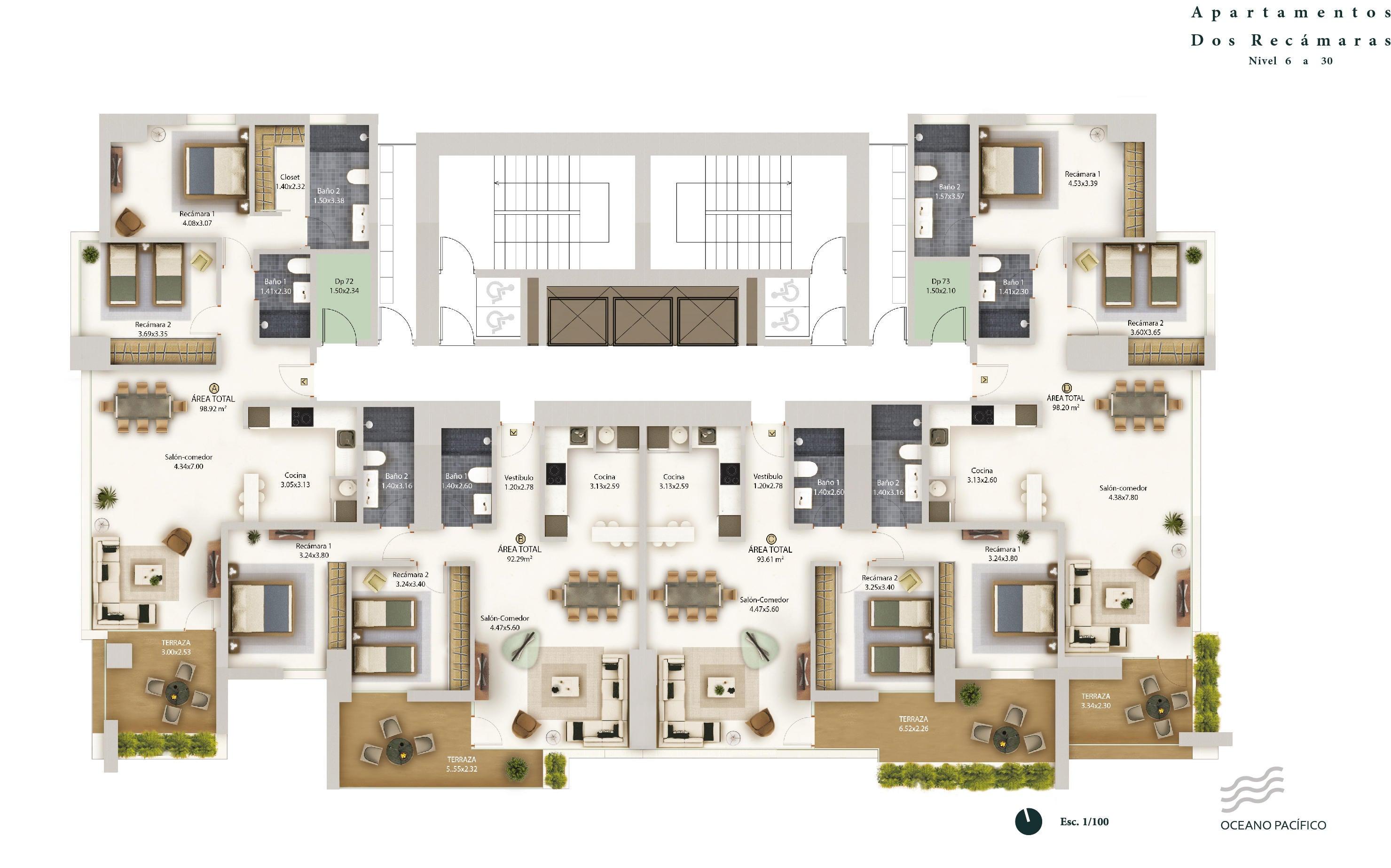 PANAMA VIP10, S.A. Apartamento en Venta en Bellavista en Panama Código: 16-2666 No.2