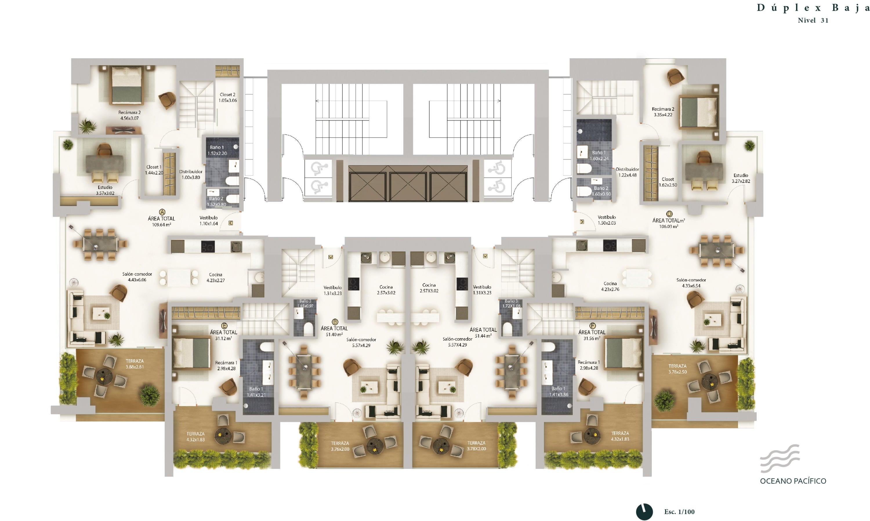 PANAMA VIP10, S.A. Apartamento en Venta en Bellavista en Panama Código: 16-2666 No.3