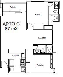 PANAMA VIP10, S.A. Apartamento en Venta en Parque Lefevre en Panama Código: 16-3100 No.6
