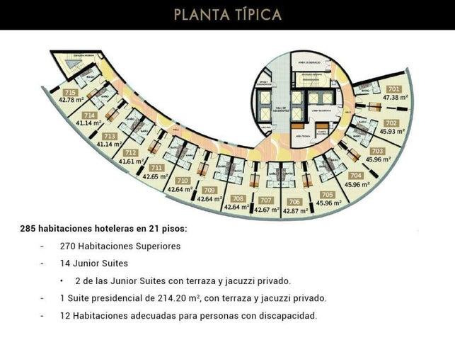 PANAMA VIP10, S.A. Apartamento en Venta en Marbella en Panama Código: 16-3238 No.3