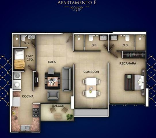 PANAMA VIP10, S.A. Apartamento en Venta en Bellavista en Panama Código: 16-3428 No.5