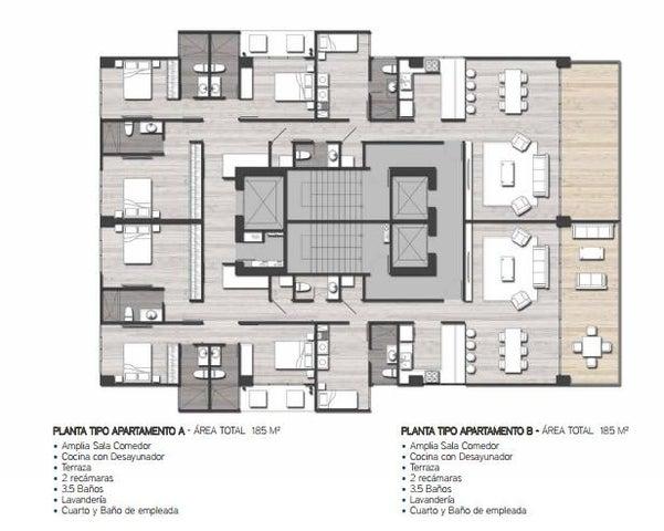 PANAMA VIP10, S.A. Apartamento en Venta en San Francisco en Panama Código: 16-3486 No.4