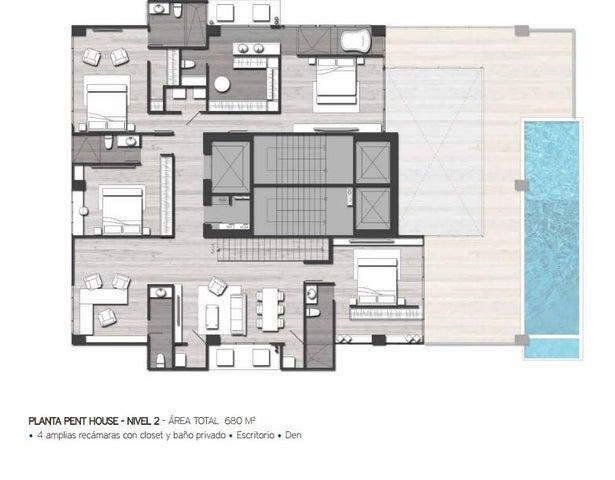 PANAMA VIP10, S.A. Apartamento en Venta en San Francisco en Panama Código: 16-3486 No.6