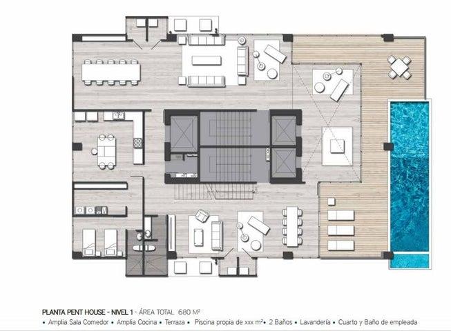 PANAMA VIP10, S.A. Apartamento en Venta en San Francisco en Panama Código: 16-3486 No.7