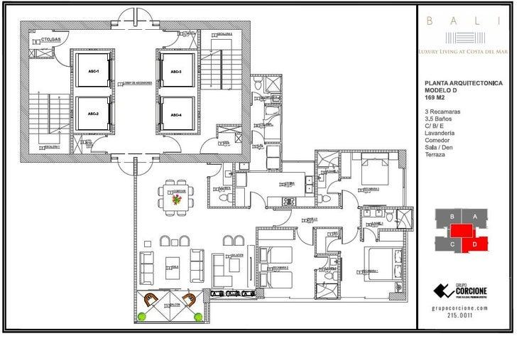 PANAMA VIP10, S.A. Apartamento en Venta en Costa del Este en Panama Código: 16-3669 No.6