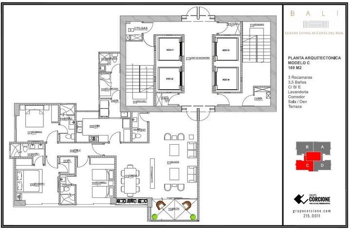 PANAMA VIP10, S.A. Apartamento en Venta en Costa del Este en Panama Código: 14-1237 No.5