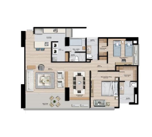 PANAMA VIP10, S.A. Apartamento en Venta en Coco del Mar en Panama Código: 16-4478 No.1