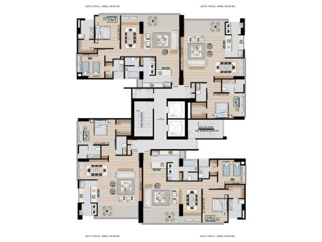PANAMA VIP10, S.A. Apartamento en Venta en Coco del Mar en Panama Código: 16-4478 No.2