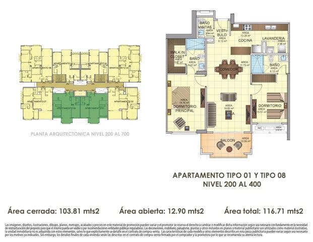 PANAMA VIP10, S.A. Apartamento en Venta en Panama Pacifico en Panama Código: 16-4538 No.2