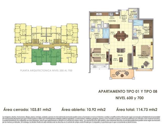 PANAMA VIP10, S.A. Apartamento en Venta en Panama Pacifico en Panama Código: 16-4538 No.4