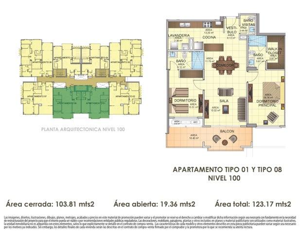 PANAMA VIP10, S.A. Apartamento en Venta en Panama Pacifico en Panama Código: 16-4539 No.1