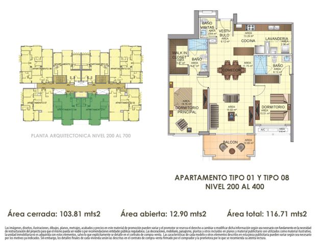PANAMA VIP10, S.A. Apartamento en Venta en Panama Pacifico en Panama Código: 16-4539 No.2