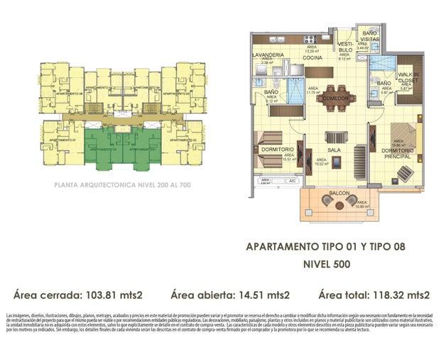 PANAMA VIP10, S.A. Apartamento en Venta en Panama Pacifico en Panama Código: 16-4539 No.3