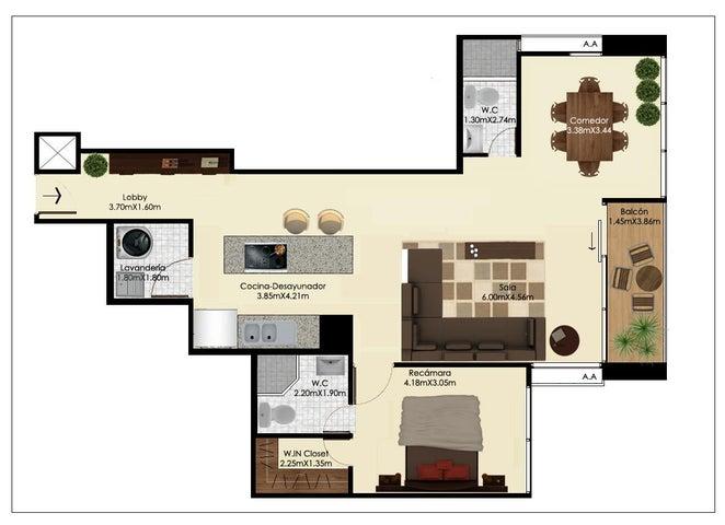 PANAMA VIP10, S.A. Apartamento en Venta en Bellavista en Panama Código: 17-176 No.8